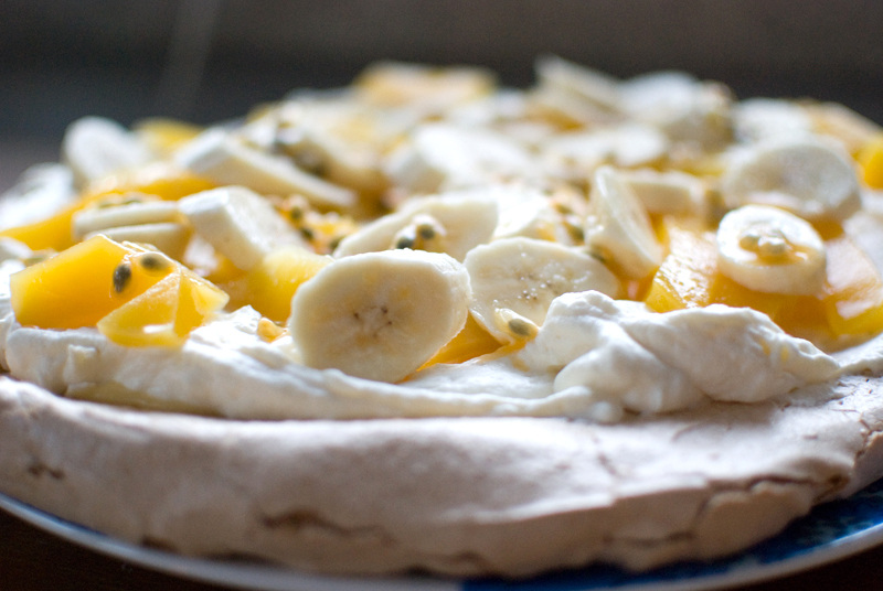 ... lemon curd and fresh fruit. | Food | Pinterest | Pavlova, Fresh Fruit